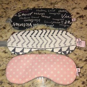 Victoria's Secret cloth sleep masks (3)